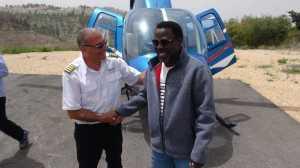 Photos Of Prophet TB Joshua In Israel